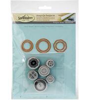 Spellbinders Stamp & Die Set-Vintage Buttons, , hi-res
