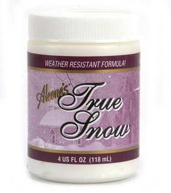 Aleene's True Snow Paint-4 Ounces