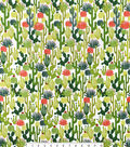 Snuggle Flannel Print Fabric 42\u0022-Cactus Toss