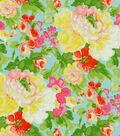 Waverly Print Fabric 54\u0022-Blossom Boutique/Aurora