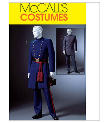 McCall's Pattern M4745-Civil War Coat and Trousers
