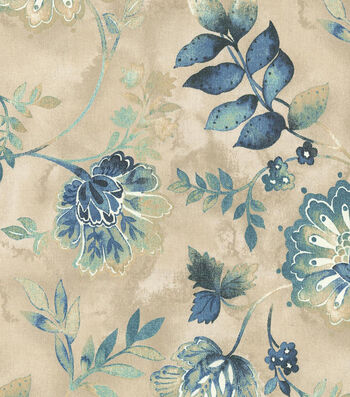"Kelly Ripa Upholstery Fabric 54""-Light Hearted Indigo"
