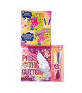 Dreamworks Trolls Pass the Glitter Velvet Art Set