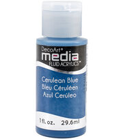DecoArt Media Cerulean B-media Fluid Acrylic, , hi-res