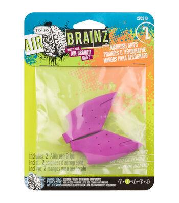 AirBrainz Airbrush Grips 2/Pkg-Pink