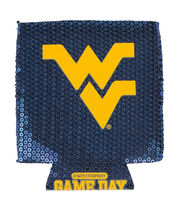 West Virginia University Mountaineers Sequin Koozie, , hi-res