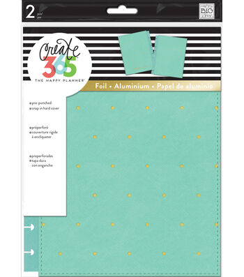 Create 365 Happy Planner Classic Snap-In Hard Cover Planner-Sky Blue