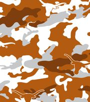 "University of Texas Longhorns Cotton Fabric 44""-Camo, , hi-res"