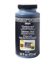 FolkArt® MultiSurface Chalkboard Paint 16oz-Black, , hi-res