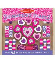 Hearts -wooden Bead Set, , hi-res