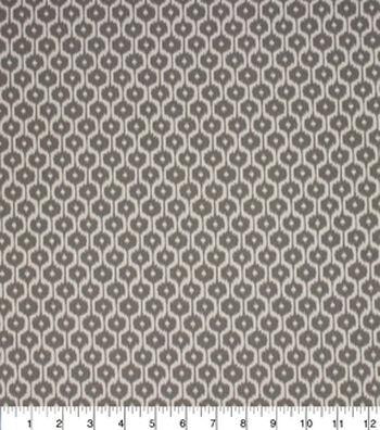 """Home Essentials Print Fabric 45""""-Quaver Grey"""