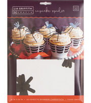 Lia Griffith Crafts-Cupcake Spider Set, , hi-res