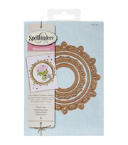 Spellbinders Nestabilities Decorative Elements Dies-Triple Tear, , hi-res