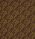 Home Decor 8\u0022x8\u0022 Fabric Swatch-Robert Allen Bohemian Tuscan Red Fabric