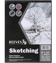 """Sketching Paper Pad 9""""X12"""", , hi-res"""
