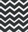 Keepsake Calico™ Cotton Fabric 43\u0022-Black & White Chevron
