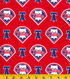 Philadelphia Phillies Cotton Fabric 58\u0022-Logo