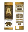 Personal Prints Paper Letters-Camo Alphabet