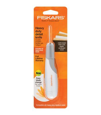 Fiskars Heavy-duty Easy Change Detail Knife #2 Blade