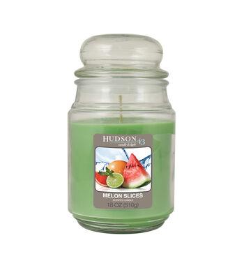 Hudson 43™ Candle & Light Collection 18oz Value Jar Melon Slices