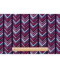 Anti-Pill Fleece Fabric 59\u0022-Boho Chevron