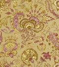 Home Decor 8\u0022x8\u0022 Fabric Swatch-Williamsburg Grand Palampore Prune