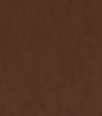 "Home Decor 8""x8"" Fabric Swatch-Suede Cocoa"