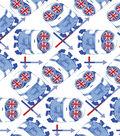 Minion Cotton Fabric 44\u0022-British Google