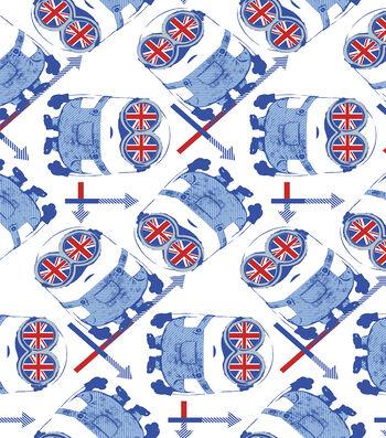 "Minion Cotton Fabric 44""-British Google"