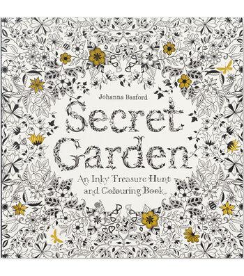 Chronicle Books Secret Garden Coloring Book
