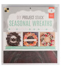 DCWV DIY Project Stack: Season Wreath