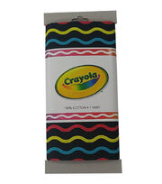 Crayola® Fabric 1yd Cut-Serpentine Multi Black, , hi-res