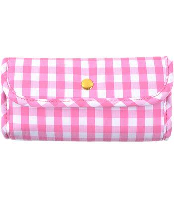Tulip Needle Company 10pcs Etimo Candy Crochet Hook Set-Gingham Pink