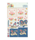 Papermania Folk Floral A4 Decoupage Pack-You\u0027re The Best