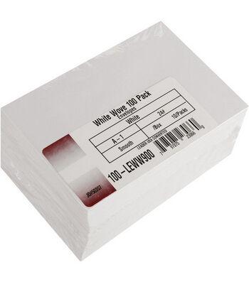 """Leader A1 Envelopes (3.625""""X5.125"""") 100/Pkg-White"""