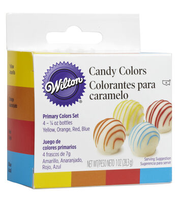 Wilton® Candy Colors 4/Pkg