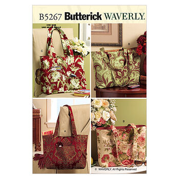 Butterick Crafts Totes & Bags-B5267