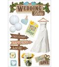 Wedding -3d Stickers