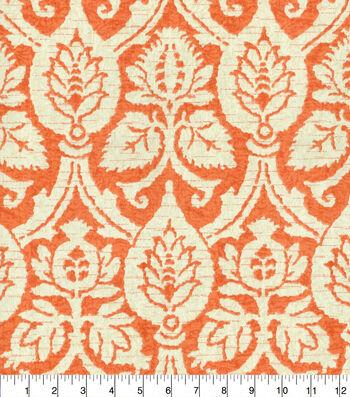 "Home Essentials Caribbean Print Fabric 45""-Coral Flaneurs"