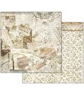 Stamperia 10 pk 12\u0027\u0027x12\u0027\u0027 Double-Sided Cardstock-Old Lace Cards & Laces