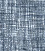 "Keepsake Calico™ Cotton Fabric 43""-Crosshatch Blue Dark, , hi-res"