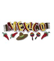 Jolee's Boutique Title Wave Stickers-Mexico, , hi-res