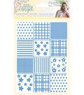 Little Angel Embossing Folder 5\u0022X7\u0022-Patchwork Quilt
