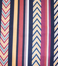 Home Essentials Print Fabric 45\u0022-Nevada Multi Stripe