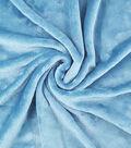 Sew Lush Fleece Fabric 57\u0022-Blue Bird Aqua