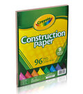 Crayola Construction Paper Pad 9\u0022X12\u0022-96 Sheets