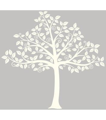 Wall Pops Silhouette Tree Wall Art Decal Kit, 129 Piece Set
