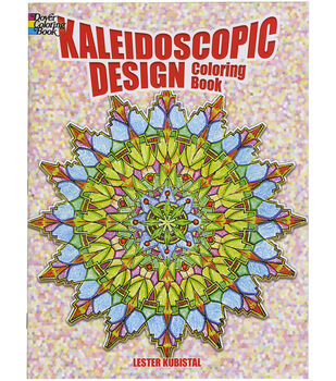 Adult Coloring Book Dover Publications Kaleidoscopic Design