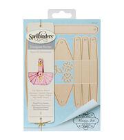 Spellbinders® Shapeabilities® Etched Die-Floral Picnic Basket, , hi-res