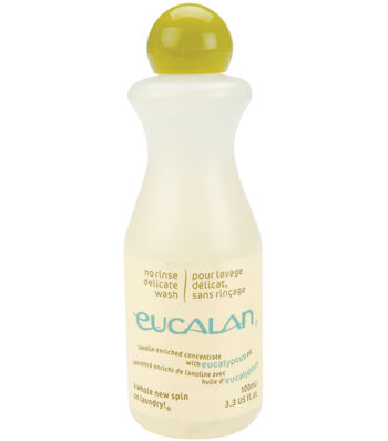Eucalan Fine Fabric Wash 3.3oz-Eucalyptus